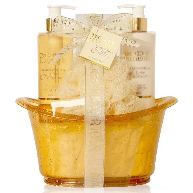 Baignoire de Bain à la vanille et au Tilleul Body Luxurious