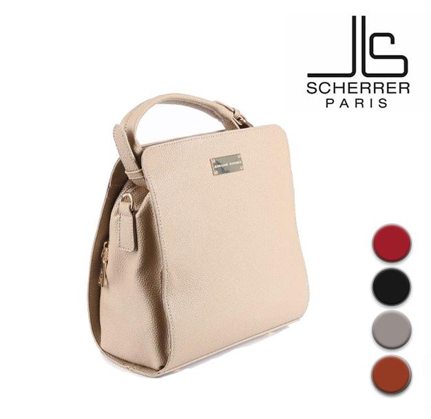 Sac en cuir pour femme Marque SCHERRER modele JLS003 Mathilda