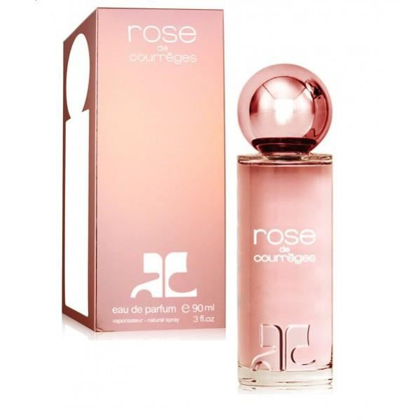 Eau de parfum pour femme pas cher Rose de Courrèges 90ml