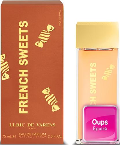 Eau de parfum FRENCH SWEETS 75ml