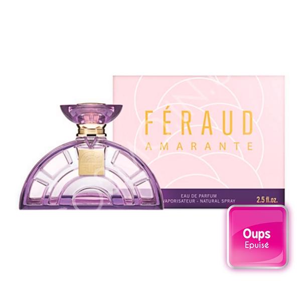 Eau de parfum femme Féraud Amarante 75ml pas cher