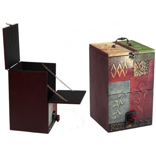place du bonheur df vannerie support d cor pour fontaines vins cubis bib. Black Bedroom Furniture Sets. Home Design Ideas