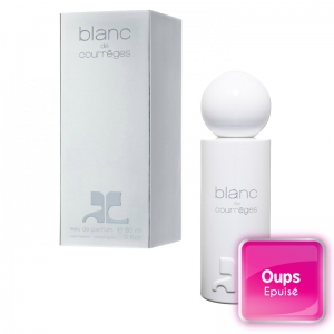 Eau de parfum pour femme Blanc de Courrèges Vaporisateur 90ml pas cher