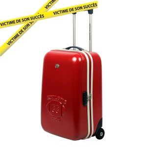 Valise rigide 2 roulettes American Tourister Fireball Rouge