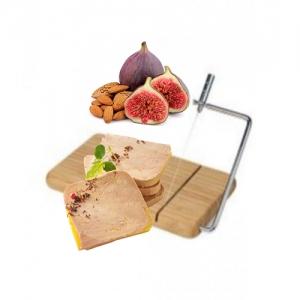 Planche de Coupe en bois pour Foie gras avec Lyre