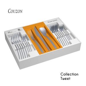 Couzon Ménagère 24 couverts de la collection Tweet PAS CHERE