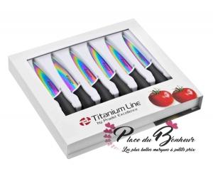 coffret Pradel Excellence CTI006 6 couteaux a steack