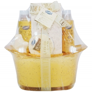 Baignoire bain vanille idee cadeau coffret beauté