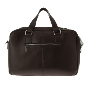 Sac pour homme en cuir marron type porte documents Gentleman Farmer Worker 03