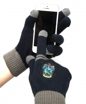 Gants magic touch Maison Serdaigle Harry Potter pour ecrans tactiles
