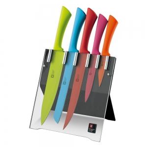 bloc plexi 5 couteaux Ticherdson shieffield pour la cuisine
