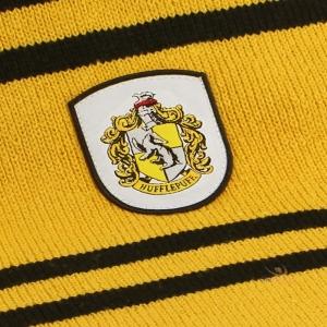 Echarpe officielle cinereplica harry potter ecole poufsouffle jaune et noire pas chere