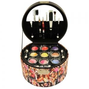 Mallette de maquillage pas chere sur les theme disco Fashion de 36 pieces Gloss