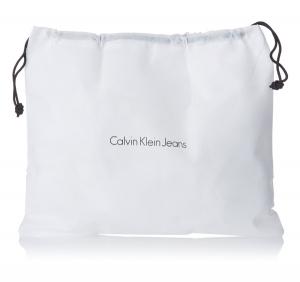 Sac Urban Messenger Calvin Klein en toile J5EJ500048 coloris Noir