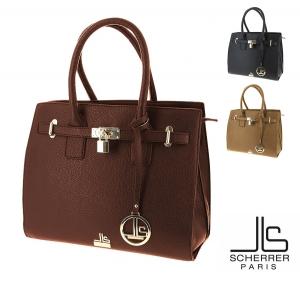 Sacs a main pour Femme SCHERRER PARIS JLS8805 cadenas decoratif