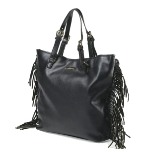 Sac à main femme avec franges collection FRINGE TOTE BCBG Paris B0065Rouge