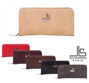 Compagnon-Portefeuille Jean Louis SCHERRER Paris Gamme Croco JLS11724