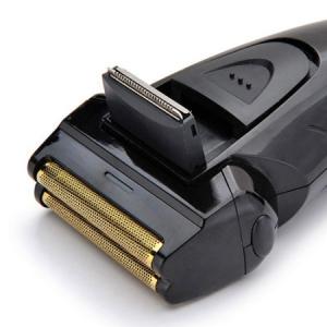 Rasoir électrique noir et bleu type sport pour homme rechargeable RSM1310 PRITECH