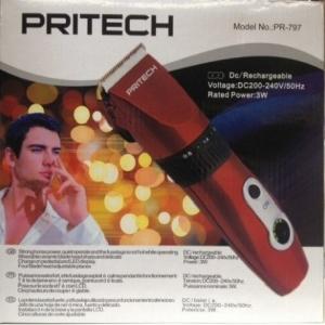 Tondeuse PROFESSIONNELLE rechargeable avec lame ceramique PRITECH PR-797