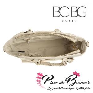 Sac cabas à oreilles Marque BCBG Paris modele Scarf Tote Satchel Bleu Clair