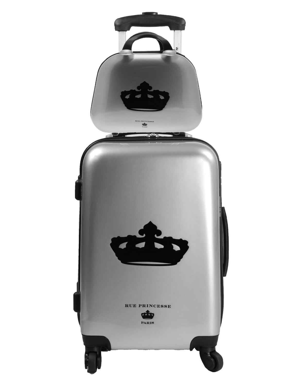 place du bonheur rue princesse set valise et vanity. Black Bedroom Furniture Sets. Home Design Ideas