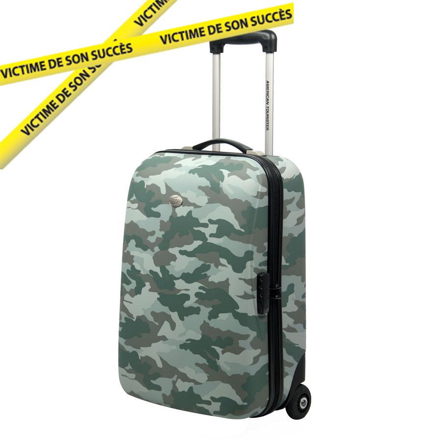 place du bonheur samsonite valise rigide 2 roulettes american tourister defense. Black Bedroom Furniture Sets. Home Design Ideas