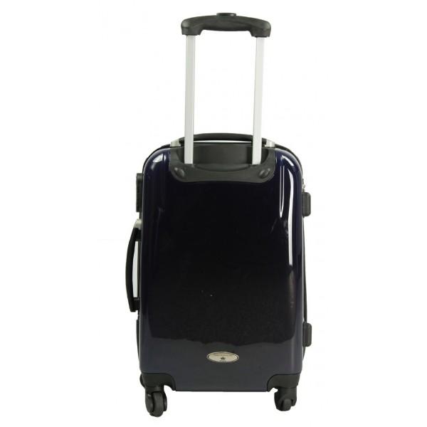 place du bonheur rue princesse set valise format cabine et vanity nathalia bleu marine. Black Bedroom Furniture Sets. Home Design Ideas