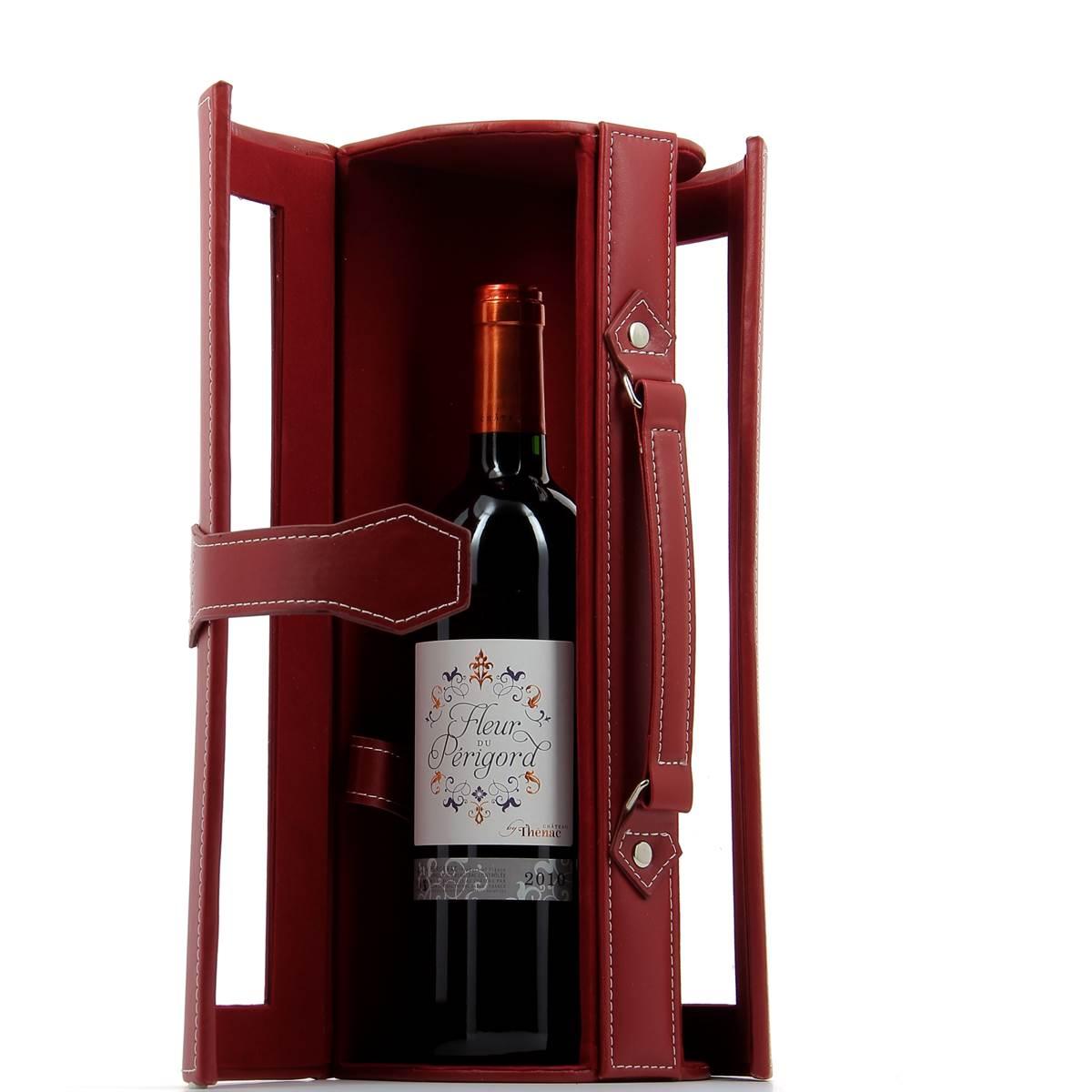 Place Du Bonheur Df Vannerie Malette Pour 1 Bouteille De Vin
